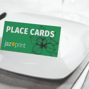 place cards for weddings and conferences
