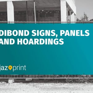 dibond signs panels and hoarding printing