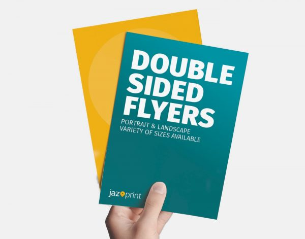printing of double sided flyers