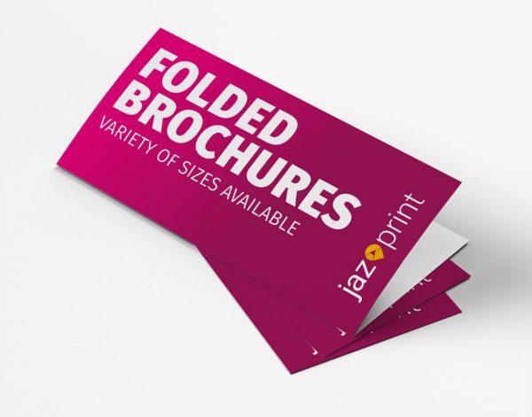 folded brochure printing