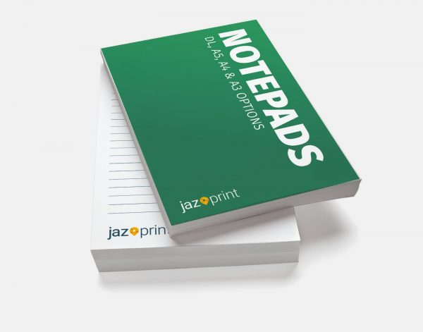notepad printing worcester gloucester cheltenham witney tewkesbury