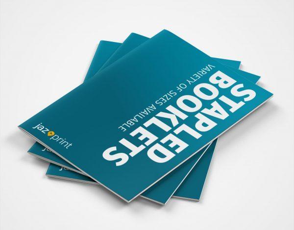 stapled booklet printing