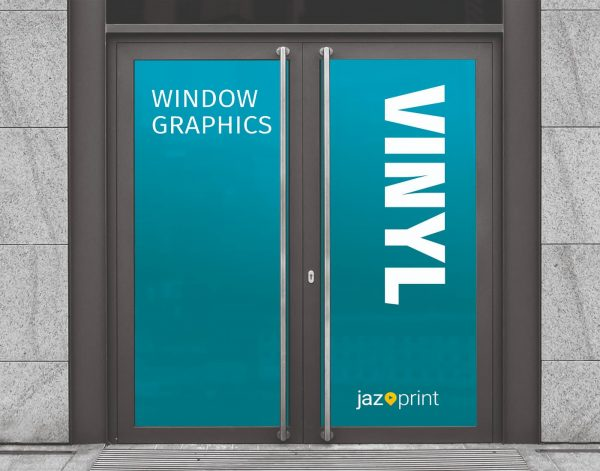 vinyl window graphic printing