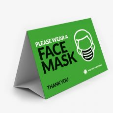tent-card-face-mask-green