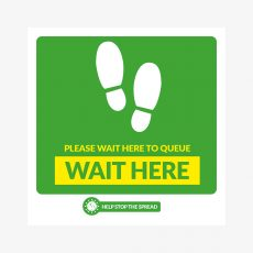 wait-here-stickers-green